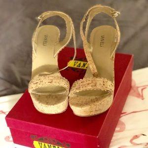 Vaneli Cork Sandals